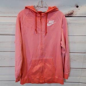 Tops - Nike Boyfriend zip hoodie sweatshirt L